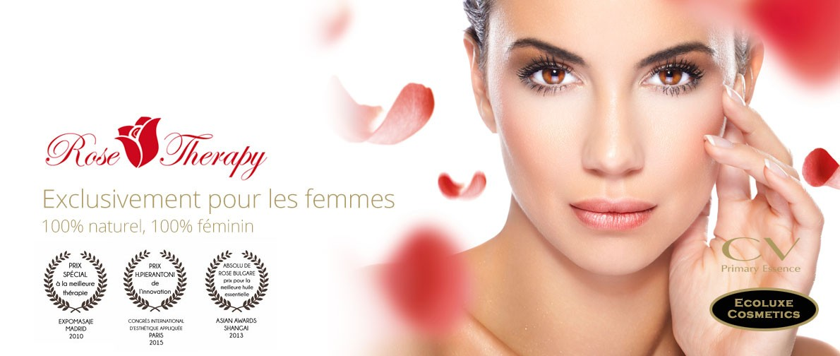 Rose therapy, le soin 100% féminin, 100% naturel.